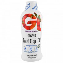Genesis Today, Organic Total Goji 100, 32 fl oz (946 ml)