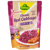 Kuhne, Ready to Use, Classic Red Cabbage, 14.1 oz (400 g)