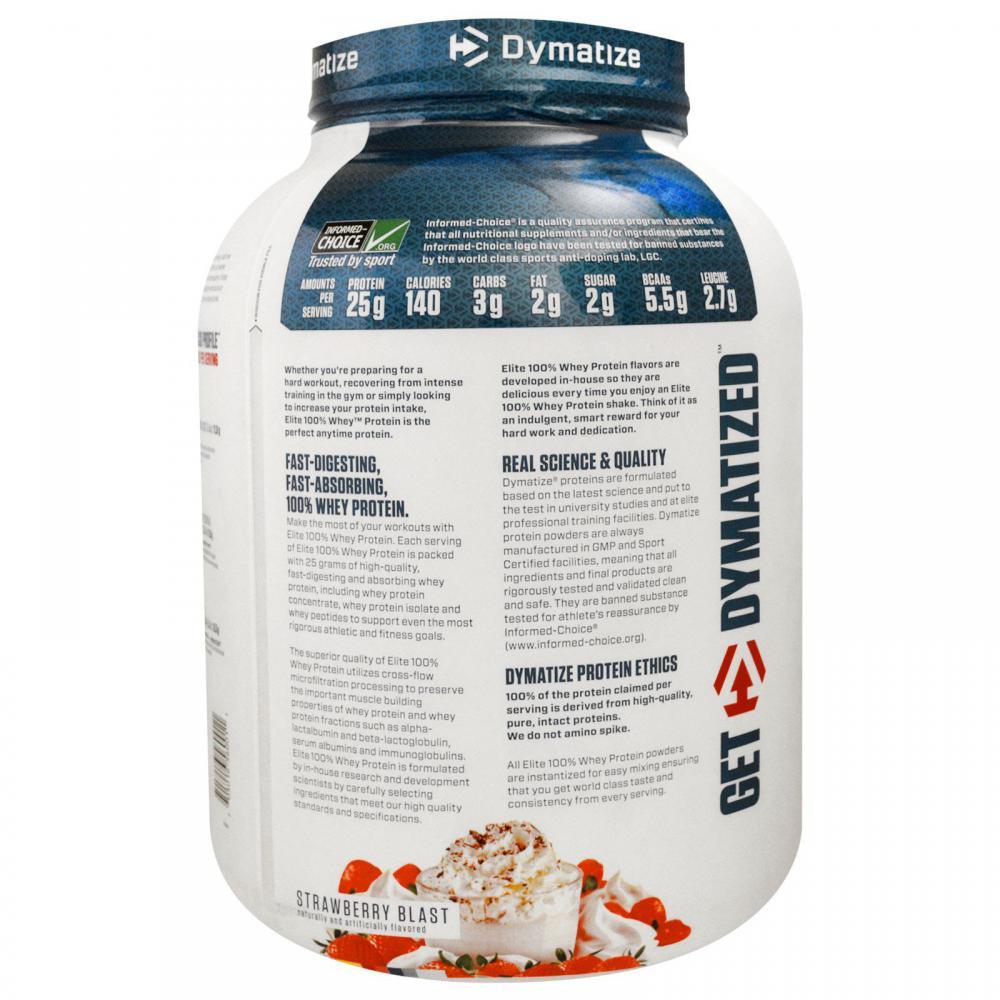 Elite 100% Whey Protein Powder Strawberry Blast in Monterrey